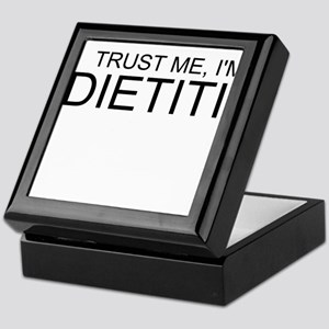 Trust Me, Im A Dietitian Keepsake Box