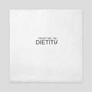 Trust Me, Im A Dietitian Queen Duvet