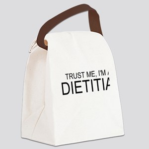 Trust Me, Im A Dietitian Canvas Lunch Bag