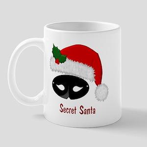 Secret Santa Hat & Mask Mug
