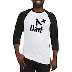 A+ Dad Baseball Jersey