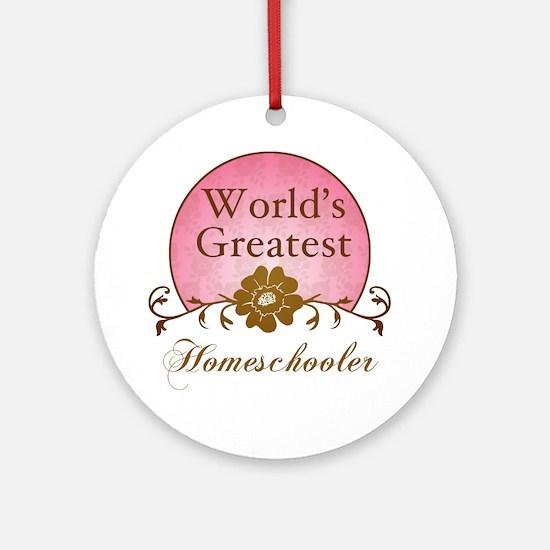 World's Greatest Homeschooler (For Moms) Ornament