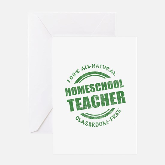 Homeschool Teacher Humor Greeting Card