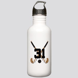 Field Hockey Number 31 Stainless Water Bottle 1.0L