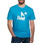 A+ Dad White T-Shirt