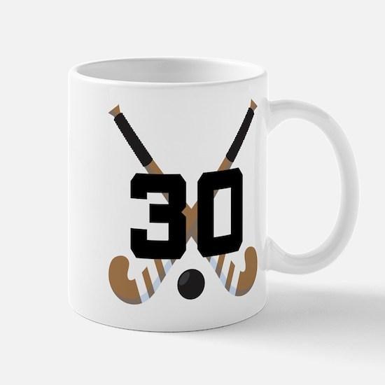 Field Hockey Number 30 Mug