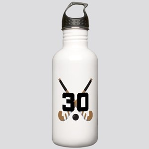 Field Hockey Number 30 Stainless Water Bottle 1.0L