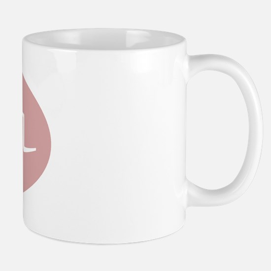 """""""Grandmother"""" in Korean ROSE Mug"""