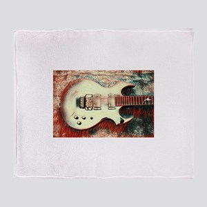 Fireplant Custom Guitars Illusion Il Throw Blanket