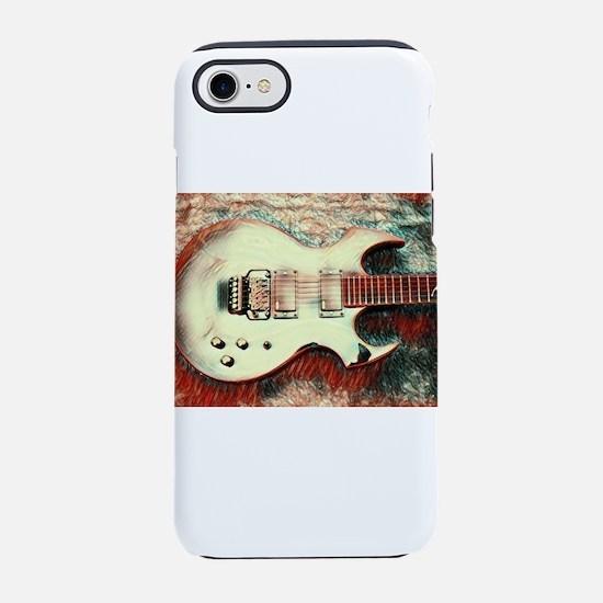 Fireplant Custom Guitars Illus iPhone 7 Tough Case