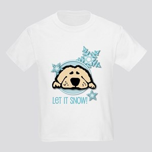 Let it Snow Golden Kids T-Shirt