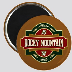 Rocky Mountain Old Label Magnet