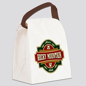 Rocky Mountain Old Label Canvas Lunch Bag