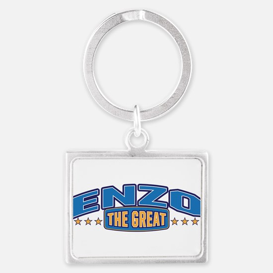 The Great Enzo Keychains