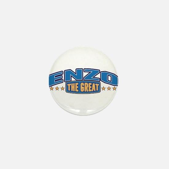 The Great Enzo Mini Button