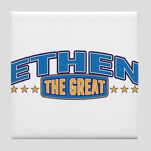 The Great Ethen Tile Coaster