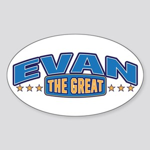 The Great Evan Sticker