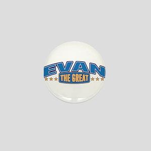 The Great Evan Mini Button