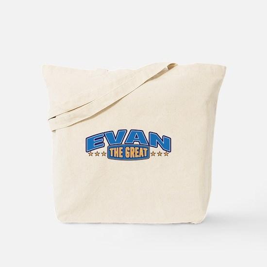 The Great Evan Tote Bag