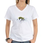 Sergeant Major Damselfish fish T-Shirt
