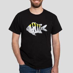 Sergeant Major Damselfish fish T-Shirt