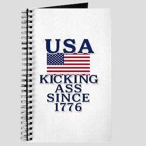 USA Kicking Ass Since 1776 Journal