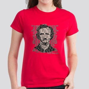 """ALONE"" Poe Poem Women's Dark T-Shirt"