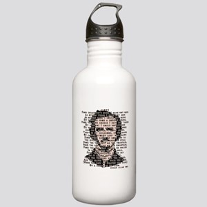 """ALONE"" Poe Poem Stainless Water Bottle 1.0L"