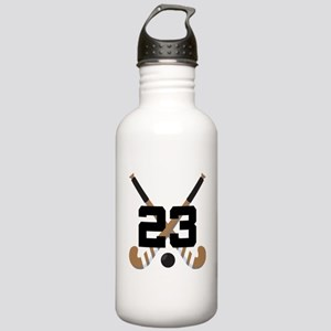 Field Hockey Number 23 Stainless Water Bottle 1.0L