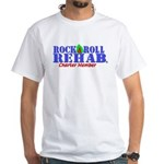 Rock & Roll Rehab Charter Member White T-Shirt