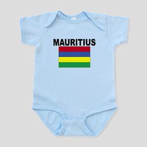 Mauritius Flag Body Suit