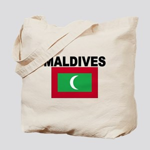 Maldives Flag Tote Bag