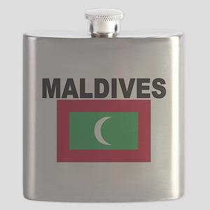 Maldives Flag Flask