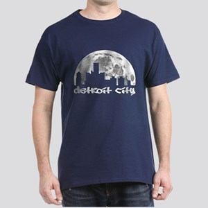 Detroit City - Big Moon Design T-Shirt