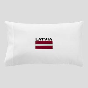 Latvia Flag Pillow Case