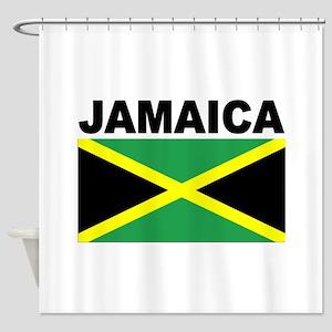 Jamaica Flag Shower Curtain