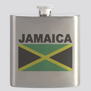 Jamaica Flag Flask