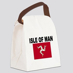 Isle of Man Flag Canvas Lunch Bag