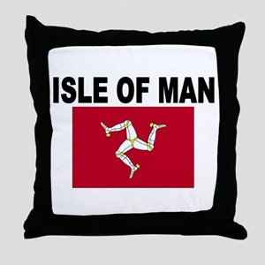 Isle of Man Flag Throw Pillow