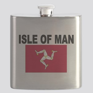 Isle of Man Flag Flask