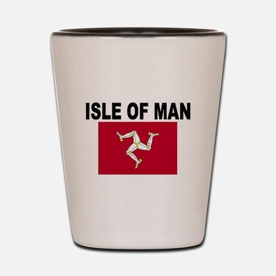 Isle of Man Flag Shot Glass
