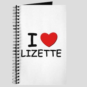 I love Lizette Journal