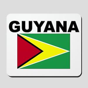 Guyana Flag Mousepad