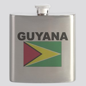 Guyana Flag Flask