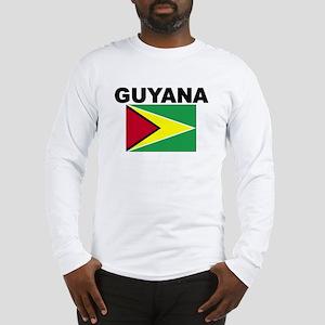 Guyana Flag Long Sleeve T-Shirt