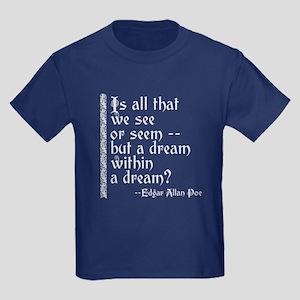 POE A Dream Within Kids Dark T-Shirt