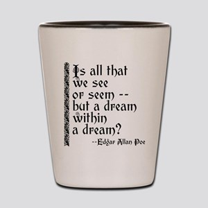 POE A Dream Within Shot Glass