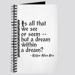 POE A Dream Within Journal