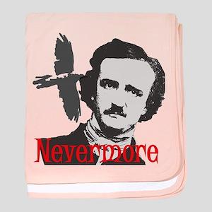 NEVERMORE Edgar Allan Poe baby blanket