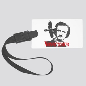 NEVERMORE Edgar Allan Poe Large Luggage Tag